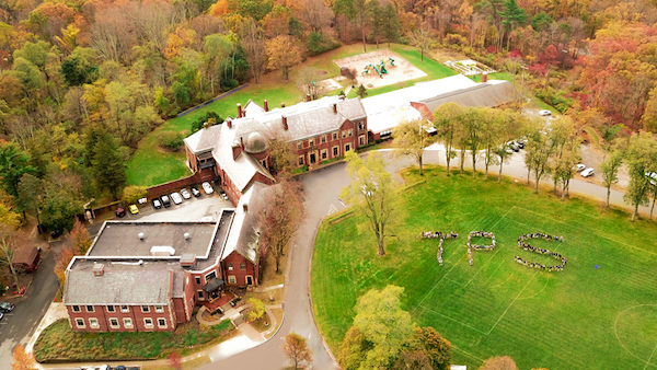 Aerial View of Tuxedo Park School